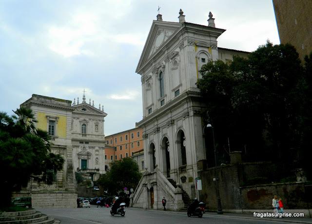 Igreja de Santa Catarina de Siena, em Roma