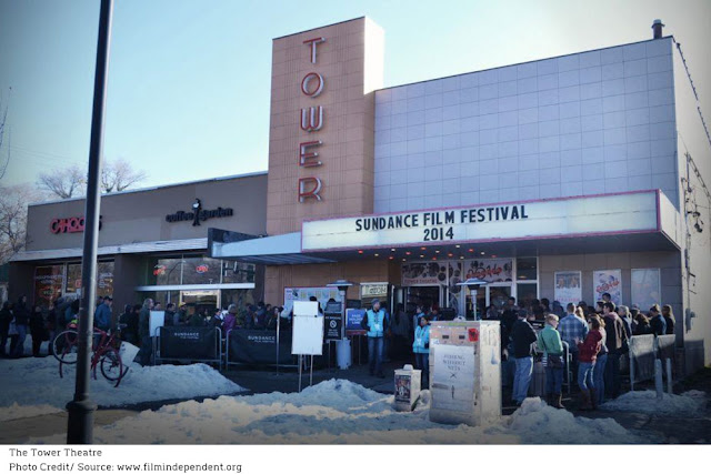 Tower Theatre showing Sundance films