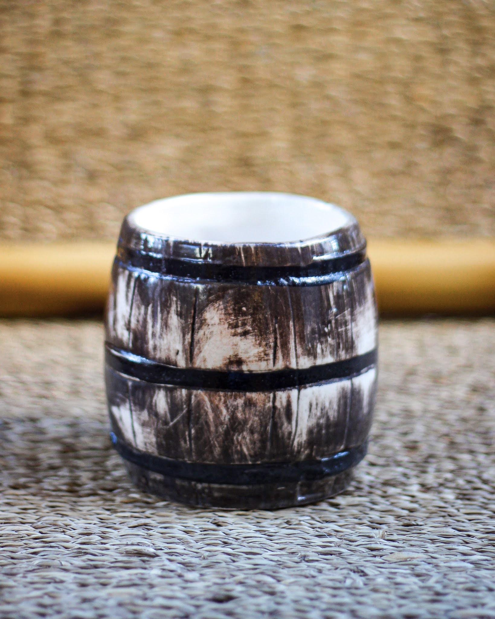 barril Tiki mug