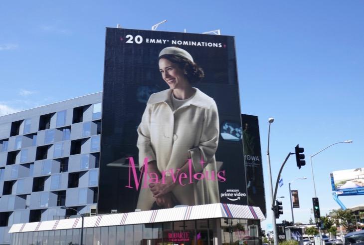 Marvelous Mrs Maisel 20 Emmy nominations billboard