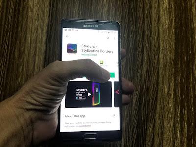 ستايدرز Styders .. تطبيق جديد للتحكم بإضاءة جوانب الشاشة