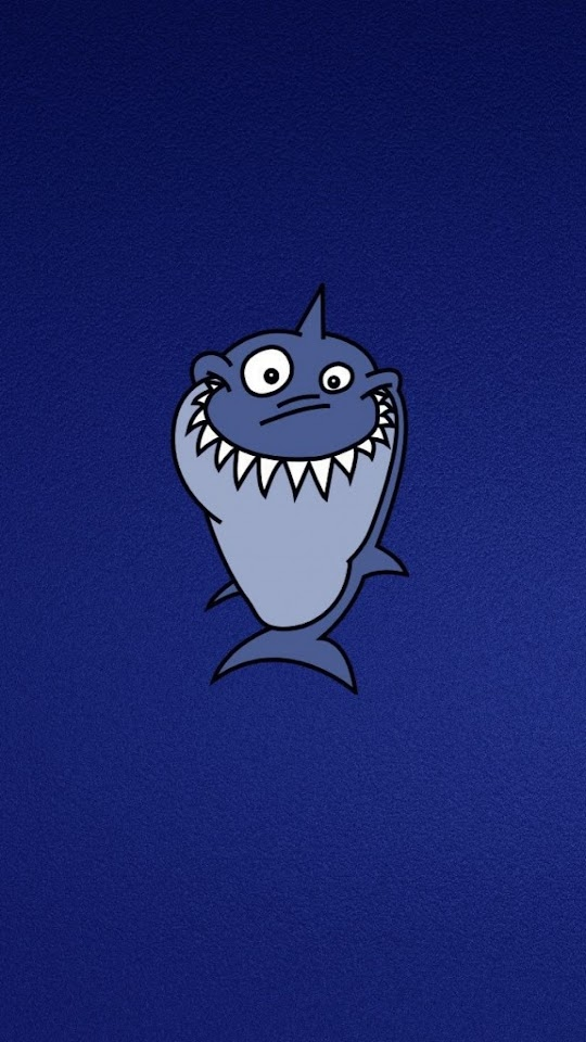 Funny Shark Illustration  Galaxy Note HD Wallpaper