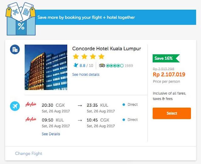 Merencanakan Liburan ke Malaysia bersama Traveloka
