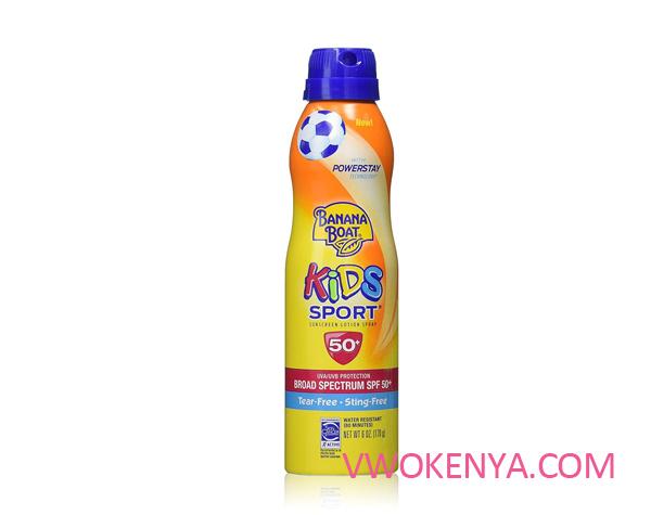Xịt chống nắng Banana Boat Kids Sport Spray