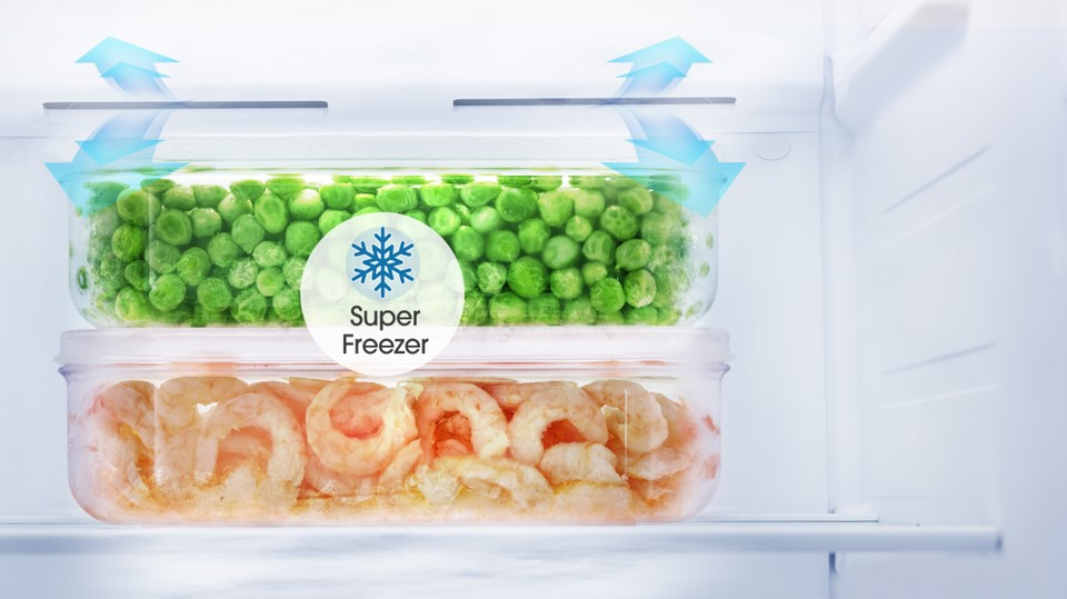 Giữ trọn hương vị tươi ngon với Tủ lạnh Casper RS-575VBW