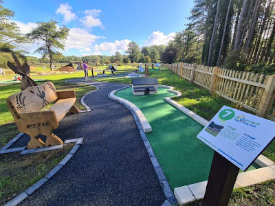 Pembrey Country Park Crazy Golf. Photo by James Palmer, UrbanCrazy. September, 2020