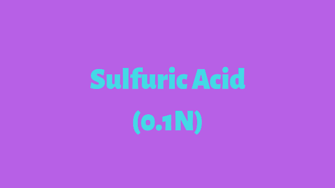 how to prepare 0.1 N sulphuric acid