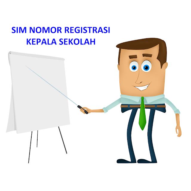 Nomor Registrasi Kepala Sekolah
