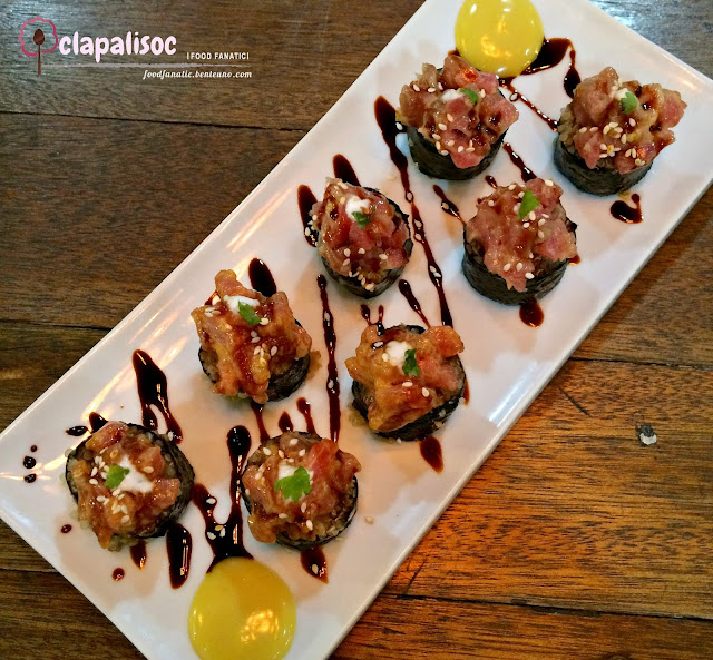 Spicy Tuna Quinoa Roll from Runner's Kitchen