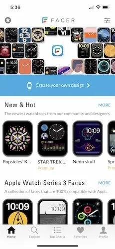 أفضل واجهة تطبيقات Apple Watch Face