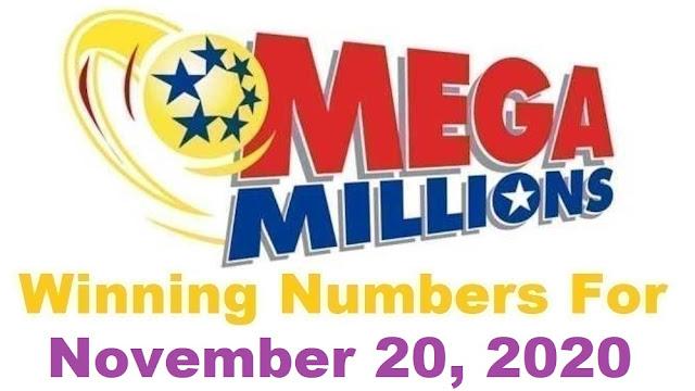 Mega Millions Winning Numbers for Friday, November 20, 2020