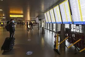 Belgium and Netherlands ban flights from UK
