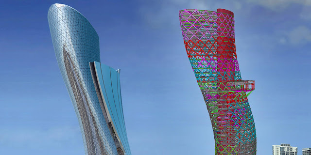 Capital Gate Building - Abu Dhabi