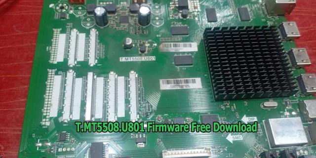 T.MT5508.U801 Firmware Free Download