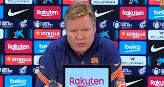 Ronald Koeman speaks on Barcelona possibilities of winning a trophy this season