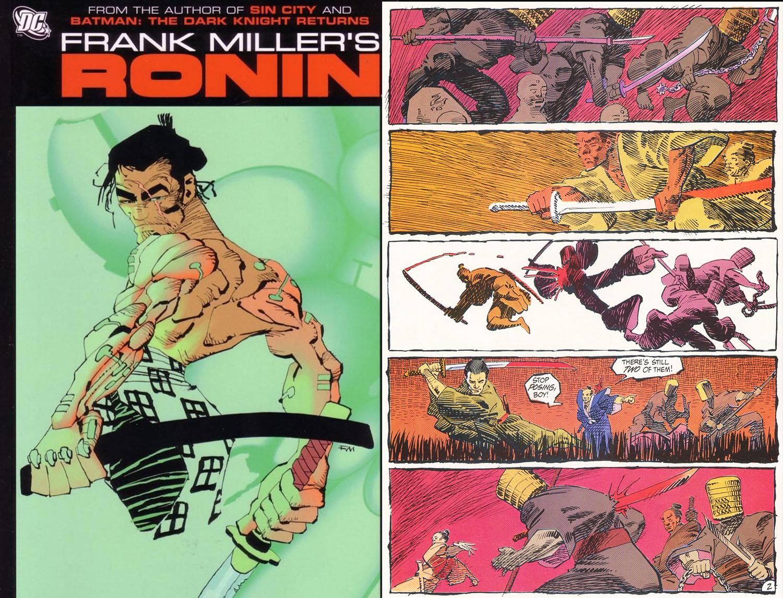 Ronin Dc Comics Frank Miller