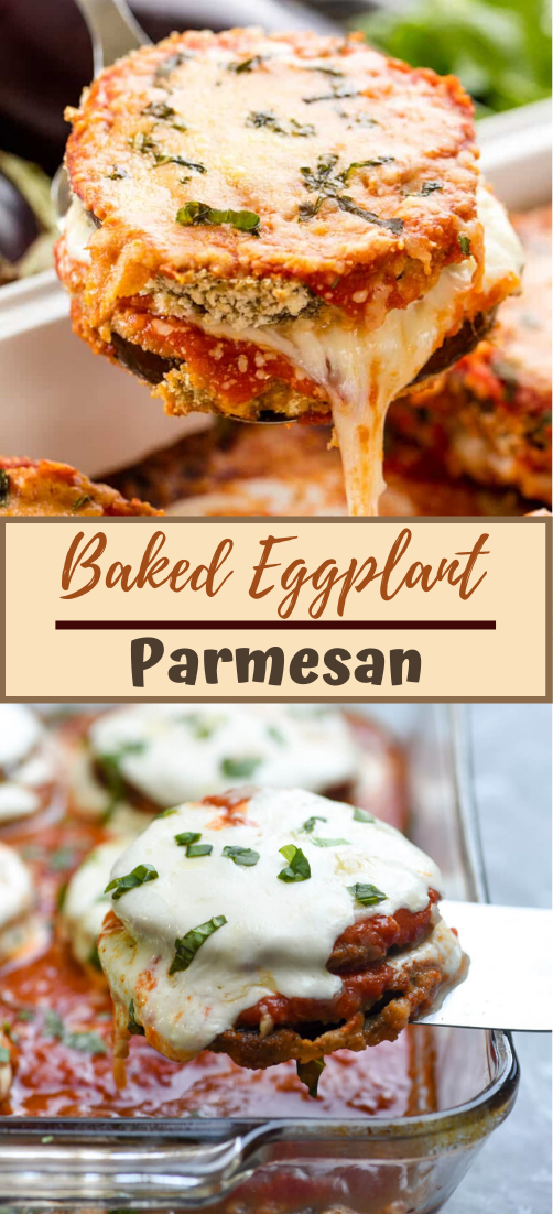 Baked Eggplant Parmesan #dinnerrecipe #food #amazingrecipe #easyrecipe