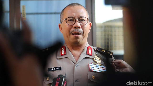 Polisi Soal Seruan Habib Rizieq: Gunakan Bendera Indonesia