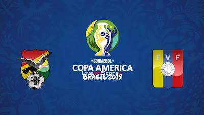 مشاهدة مباراة فنزويلا وبوليفيا بث مباشر اليوم 22-6-2019 في كوبا امريكا 2019