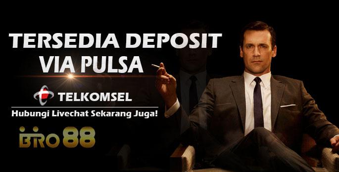 Agen Judi Deposit Pulsa