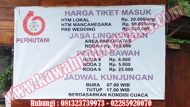 Beli tiket kawah putih online dari kediri