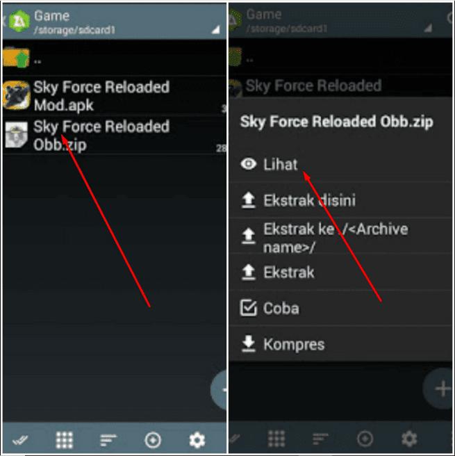 Cara Edit File Obb Di Android Dengan Mudah Menggunakan Zarchiver Perangkat Ponsel