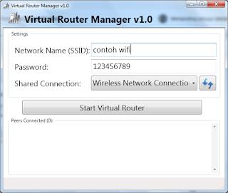 Cara Membuat Wifi/Hotspot di Komputer/Laptop Windows 7/8/10