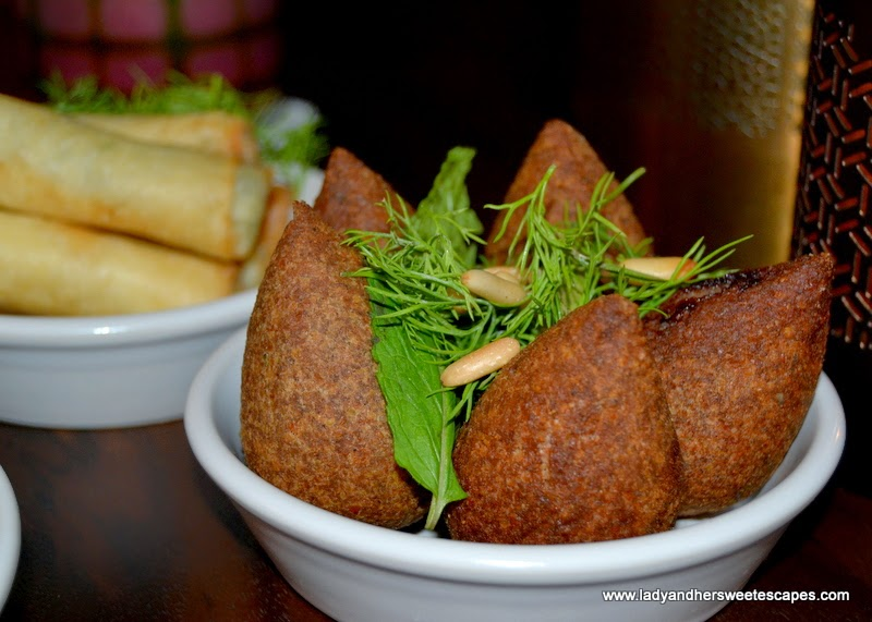 kibbeh at Boulevard Kitchen Manzil Downtown
