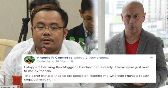 Thinking Pinoy at Professor Contreras nagaway dahil sa pakikipag usap ni Professor kay PinoyAkoBlog?