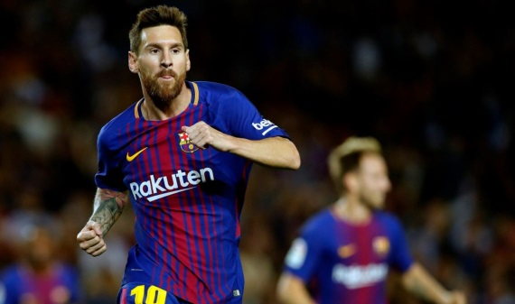 Lionel Messi scored a sensational hat-trick for Barca in a 5-0 thrashing of Espanyol last weekend
