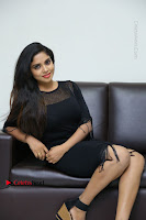 Telugu Actress Karunya Chowdary Latest Stills in Black Short Dress at Edo Prema Lokam Audio Launch .COM 0279.JPG