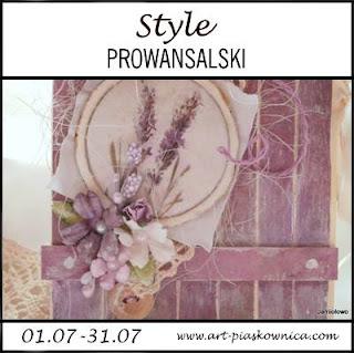 Style -prowansalski - wyzwanie