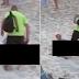 Furioso, homem interrompe casal que estava 'namorando' na praia a chineladas