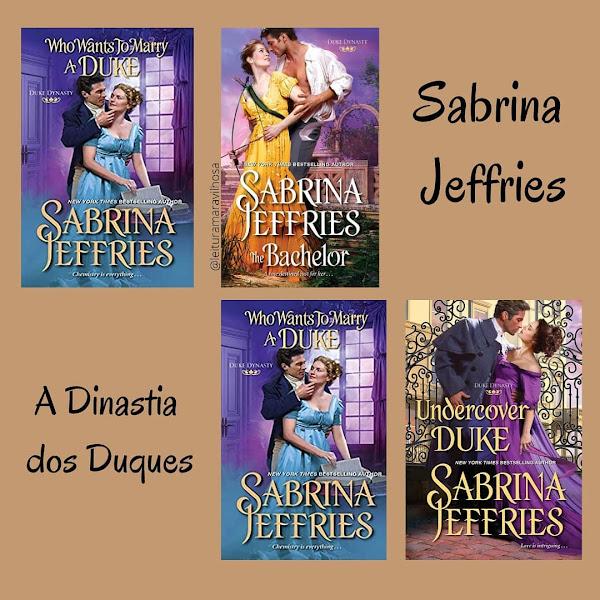 Sabrina Jeffries pela Editora Arqueiro