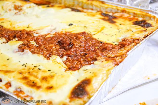 Close up photo of Mum's Lasagna