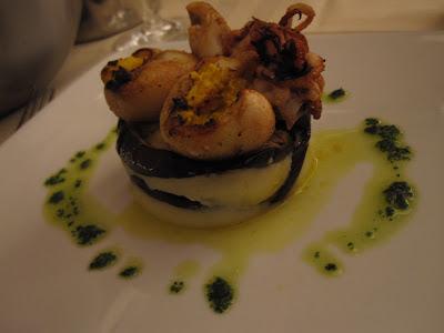 Venice, Osteria Bancogiro, cuttlefish