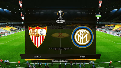 PES 2020 UEFA Europa League Final 2020 | Sevilla vs Inter Milan | RheinEnergieSTADION