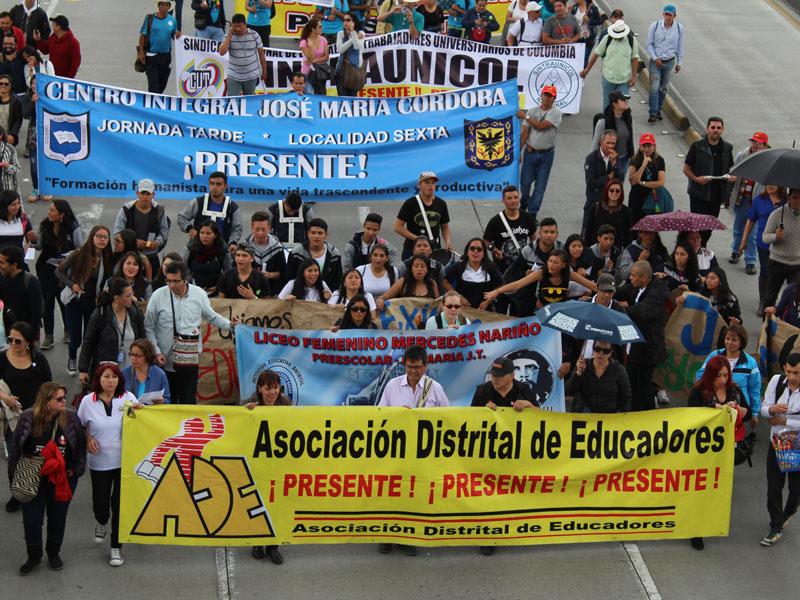 Jornada de Movilización del 26 de abril prepara un 1 de mayo masivo y combativo