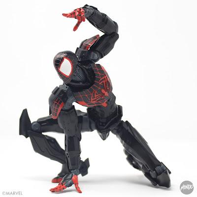 San Diego Comic-Con 2021 Exclusive Spider-Man Miles Morales Marvel Mecha Premium Collectible Figure by Mondo