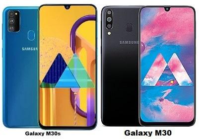 Samsung Galaxy M30s Vs Samsung Galaxy M30 Specs Comparison