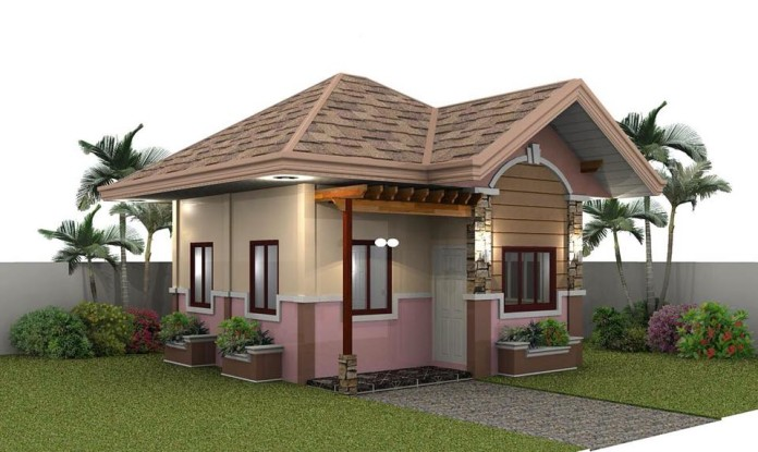 Small house exterior look and interior design ideas for Small house exterior design philippines