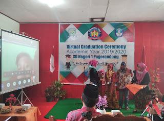 Menengok Virtual Graduation Ceremony 2020 SD Negeri 1 Pagerandong