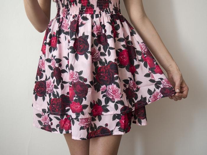 stylizacja z sukienka blog