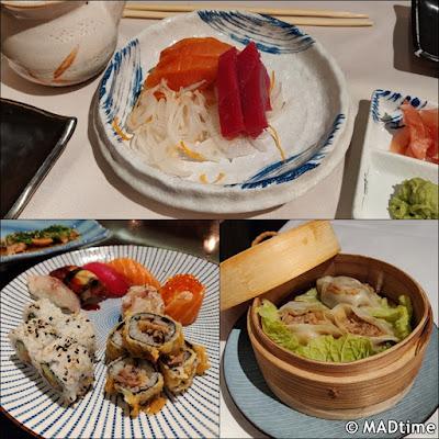 Los platos de Ayala Japón
