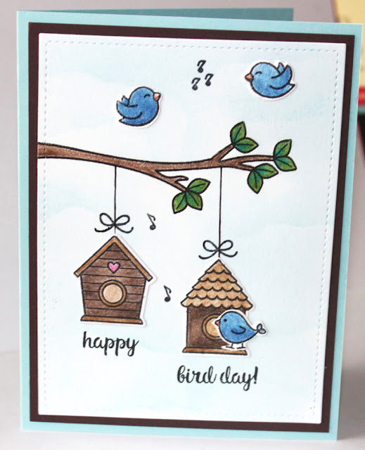 Sunny Studio Stamps: A Bird's Life Card by Gail