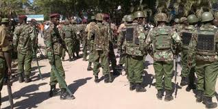 Police Officers in Kisii photo
