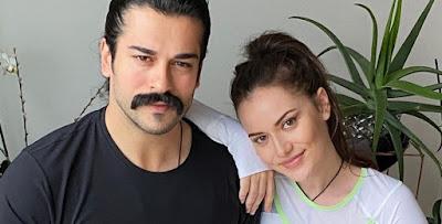 النجمة التركية فهرية أفجان تتحدث حول خبر منعها من التمثيل بقرار زوجها بوراك