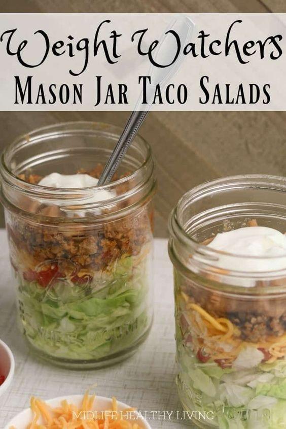 Taco Salad In A Jar