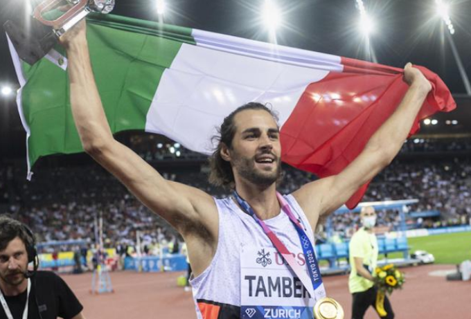 Tamberi ha vinto la Diamond League