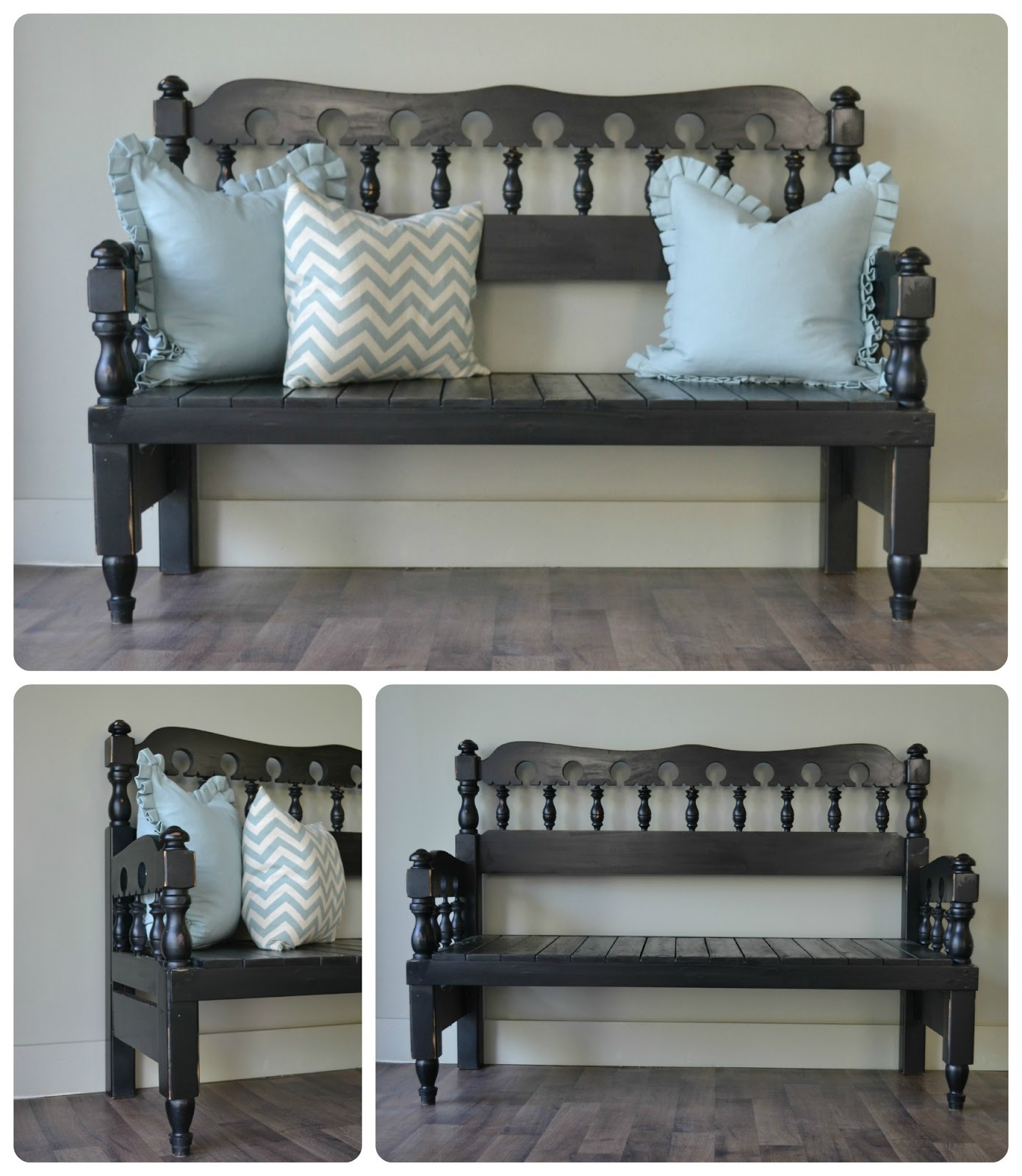 Headboard Footboard Bench